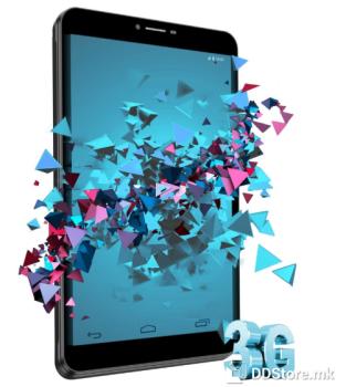 """Vivax TPC-804 3G, 8 """", IPS/PLS, 1280x800, Quad Core, Android 7.0, 2 GB, 16 GB, 2 Mpix/5 Mpix, 3G, Black"""