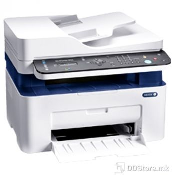 XEROX MFP 3025NI WorkCentre, A4 laser, P/C/S/F, 20ppm, 600Mhz, 128MB, ADF, Ethernet,USB,Wi-Fi, DC 15K