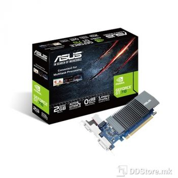 ASUS GeForce™ GT 710 GT710-SL-2GD5, PCI Express 2.0, DDR5 2GB