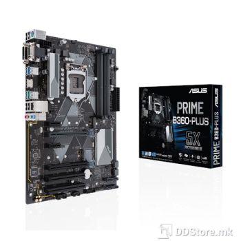 ASUS PRIME B360-PLUS, Intel® Socket 1151 for 8th Gen Core™ Intel® B360, 4 x DIMM, Max. 64GB, DDR4