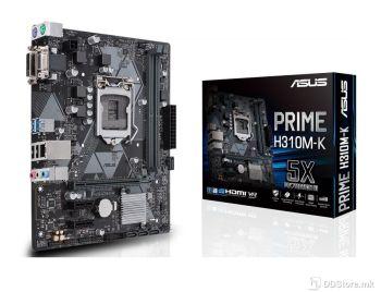 ASUS PRIME H310M-K, Intel® Socket 1151 for 8th Gen Core™ Intel® H310, 2 x DIMM, Max. 32GB, DDR4