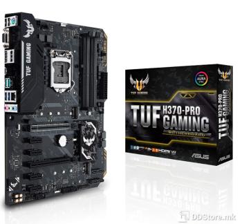 ASUS TUF H370-PRO GAMING, Intel® Socket 1151 for 8th Gen Core™ Intel® H370, 4 x DIMM, Max. 64GB