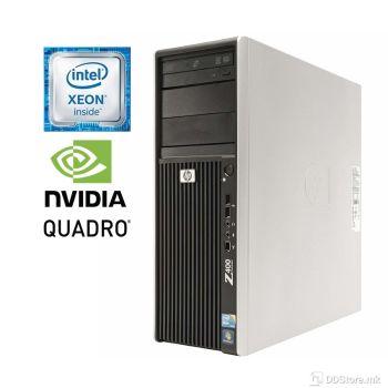 HP Z400 Workstation Xeon® W3680/ 8GB ECC DDR3/ 120GB SSD/ Quadro K2000 2GB