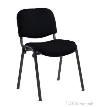 Office Chair NOWY STYL Посетителски стол Iso black C (платно)