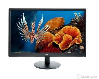 AOC 23,6'' E2470SWHE, LED 1920x1080, 250 cd/m2, D-Sub , HDMI