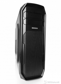 Modecom ADVANCED GAMING C4 DARK COMPUTER CASE, Midi tower