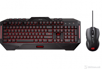ASUS Cerberus Combo Keyboard and Mouse Combo, 4-colour