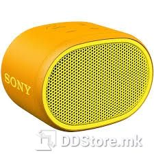 SONY SRSXB01Y.CE7,  Portable Lightweight speaker with EXTRA BASS™ enhanced sound, water-resistant design, hands-free calling and up to