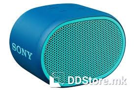 SONY SRSXB01L.CE7, Portable Lightweight speaker with EXTRA BASS™ enhanced sound, water-resistant design, hands-free calling and up to 6