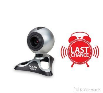 [OUTLET] DLV-B03 350K pixels webcam usb silver/black