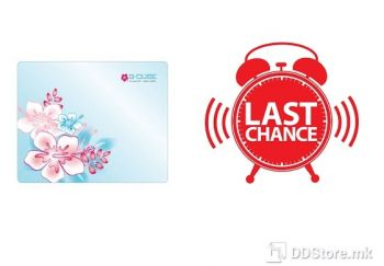 [OUTLET] MOUSE PAD GMA-20D G-CUBE FLOWERS