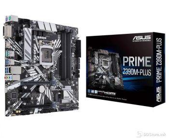 ASUS PRIME Z390M-PLUS, Intel Socket 1151 for 9th / 8th Gen Intel Z390, 4 x DIMM, Max. 64GB