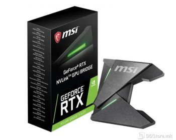 MSI GeForce RTX NVLink GPU BRIDGE RGB