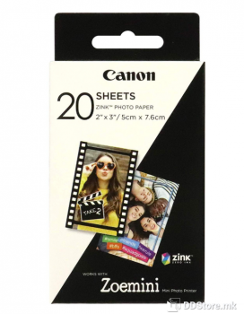 Canon ZINK ZP-2030 20 SHEETS - Zoemini