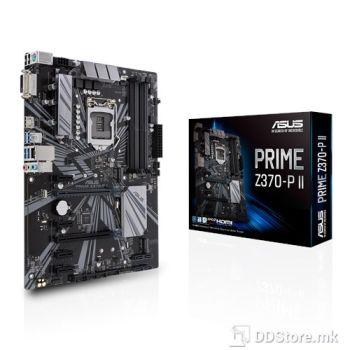 ASUS PRIME Z370-P II, CPU Intel Socket 1151 9th / 8th Gen Intel Core