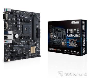 ASUS PRIME A320M-R-SI, AMD AM4 Socket for AMD Ryzen/7th Gen