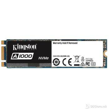 Kingston A1000 960GB NVMe SSD M.2 PCIe 3.0 x2 (M.2 2280)