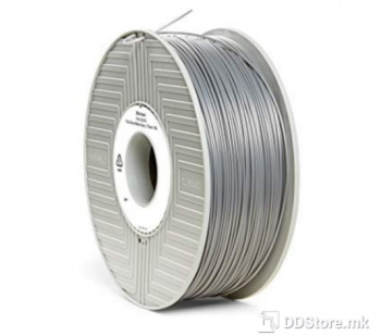 Verbatim 3D PRINTER FILAMENT PLA 1.75MM 1KG SILVER/METAL GREY