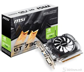 MSI GeForce® GT730 2GB DDR3 OC HDMI/DVI/VGA