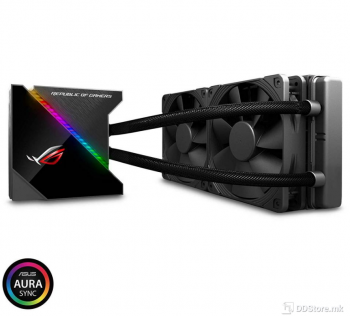 ASUS ROG RYUJIN 240, all-in-one liquid CPU cooler with color OLED