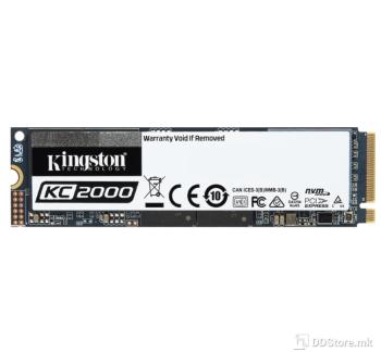 Kingston KC2000 500GB NVMe PCIe SSD 3D TLC NAND