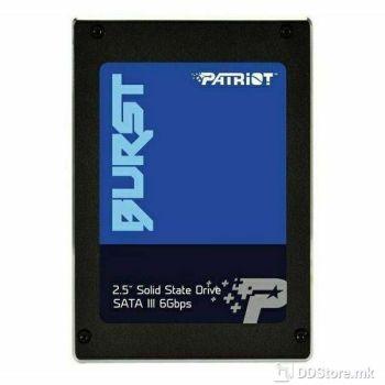 Patriot Burst 120GB SATA3 SSD, PBU120GS25SSDR
