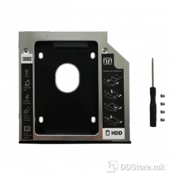 SSD/ HDD Caddy for notebook ODD slot 12.7mm