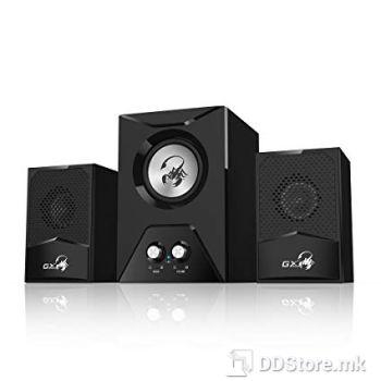Genius SW-G2.1 500, Gaming Wooden subwoofer speaker system
