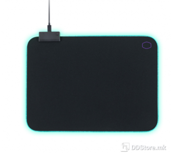CoolerMaster MP750 Gaming Soft Mouse Pad with Water Resistant Surface and Thick RGB Borders, Large Size