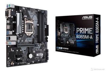 ASUS PRIME B365M-A, Intel® Socket 1151 9th / 8th Gen Intel® Core™