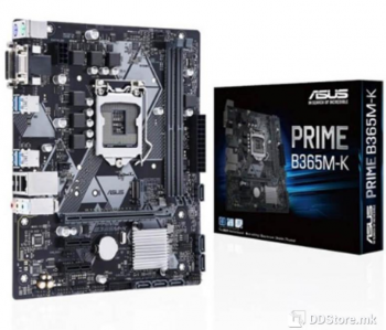 ASUS PRIME B365M-K, Intel® Socket 1151 9th / 8th Gen