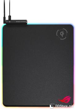 ASUS ROG Balteus Qi wireless charging RGB hard gaming mouse pad