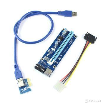 CONVERTOR PCI-X (1x) TO PCI-X (16X) Riser card molex PCE164P-N01