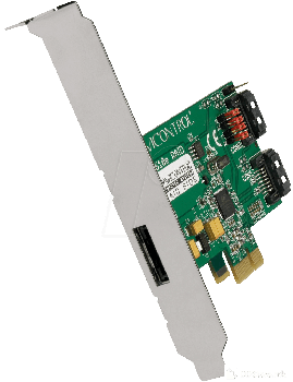 CONVERTOR PCI-X TO SATA 2 PORT RAID CARD, DC-610E BLISTER