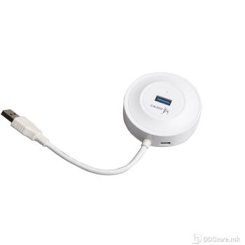 USB HUB 3.0 4PORT, TXD106 White