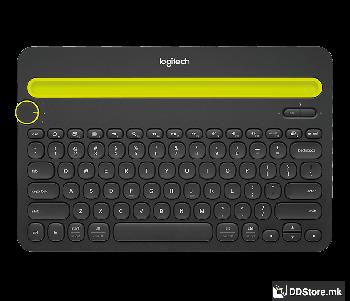 Logitech K480 Multi-Device Bluetooth Wireless Keyboard Black 920-006366