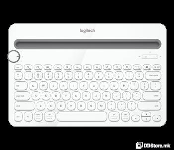 Logitech K480 Multi-Device Bluetooth Wireless Keyboard White 920-006367