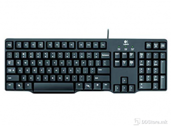 Logitech Classic Keyboard K100 - PS/2 - Black 920-002145
