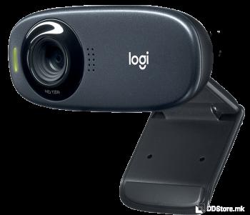 LOGITECH HD C310 BLACK Simple video calling in HD 720p 960-001065