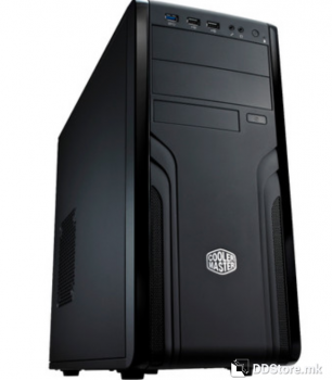 CoolerMaster Case For 500, Steel/Plastic ATX Mid Tower