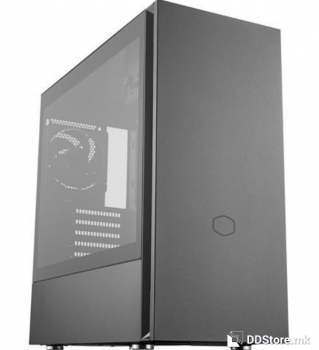 CoolerMaster Case Silencio S600 with transparent tempered glass side