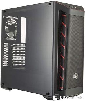 CoolerMaster Case MasterBox MB511+PSU MWE 500W 80+ PSU RGB