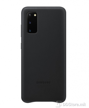 Samsung Galaxy S20 Leather Cover black