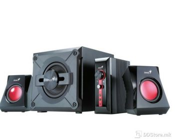 Genius SW-G2.1 1250 II speakers + subwoofer, 38W, for game, 4 pieces, 100-240V