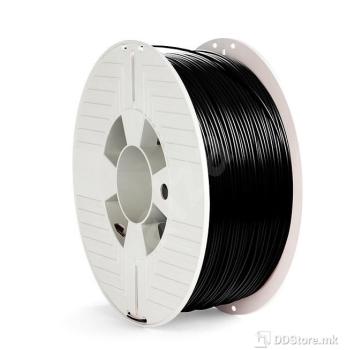 Verbatim Filament for 3D Printer PLA 1.75mm 1kg Black