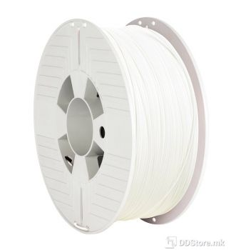 Verbatim Filament for 3D Printer PLA 1.75mm 1kg White