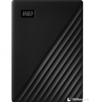 "Western Digital My Passport Black HDD External 2.5"" 1TB USB 3.2 w/ Hardware Encryption"