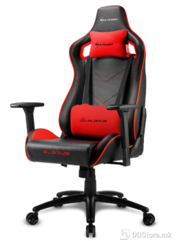Sharkoon ELBRUS 2 Black/Red Gaming Chair