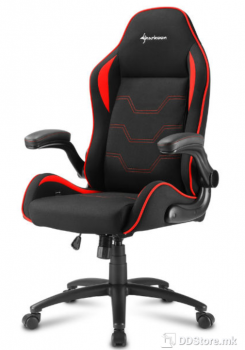 Sharkoon ELBRUS 1 Black/Red Gaming Chair