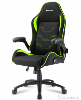 Sharkoon ELBRUS 1 Black/Green Gaming Chair